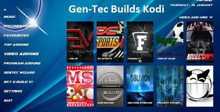 How to Install Gen-Tec Builds on Kodi 17 Krypton