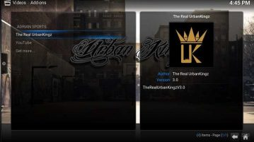 How to Install The Real Urban Kingz on Kodi