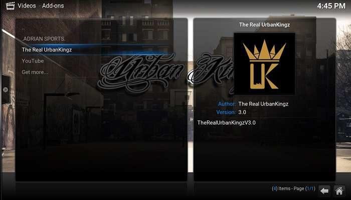 How to Install The Real Urban Kingz on Kodi