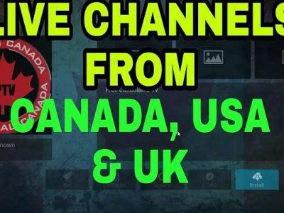 Made in Canada Kodi Live IPTV Add-on