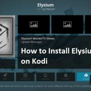 How to Install Elysium on Kodi