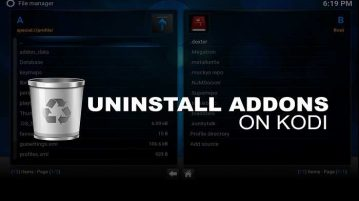 How to Uninstall Addons from Kodi