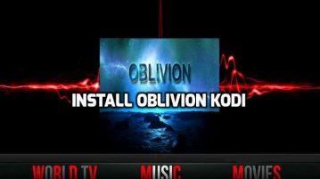How to Install Oblivion Streams on Kodi