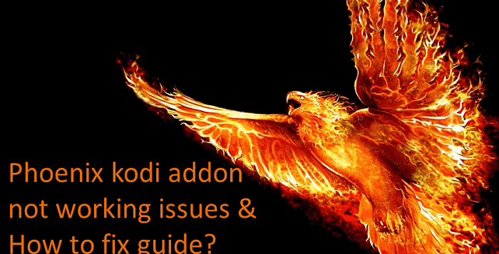 How to Fix Phoenix Kodi Not Working Issues