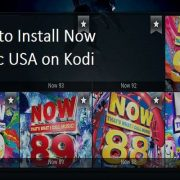 How to Install Now Music USA on Kodi