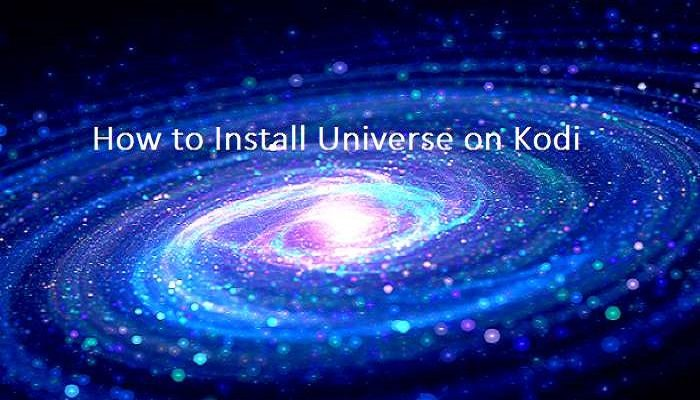 how to install universe on kodi