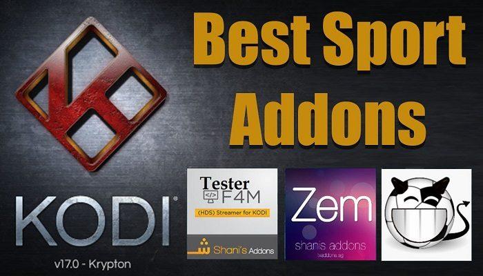 kodi best sports addons