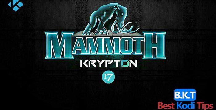How to Install Mammoth Build on Kodi 17 Krypton