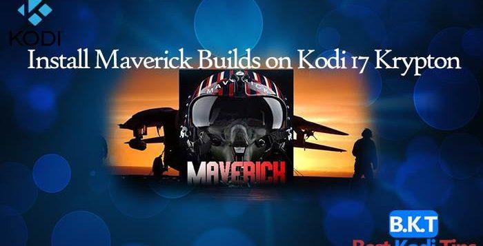 How to Install Maverick Builds on Kodi 17 Krypton