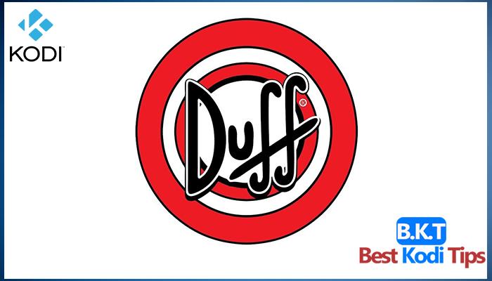 Install Duff Man Builds on Kodi 17.3