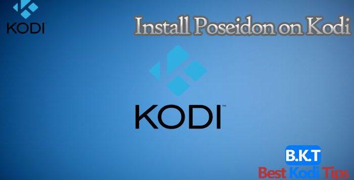 how to install Poseidon on Kodi