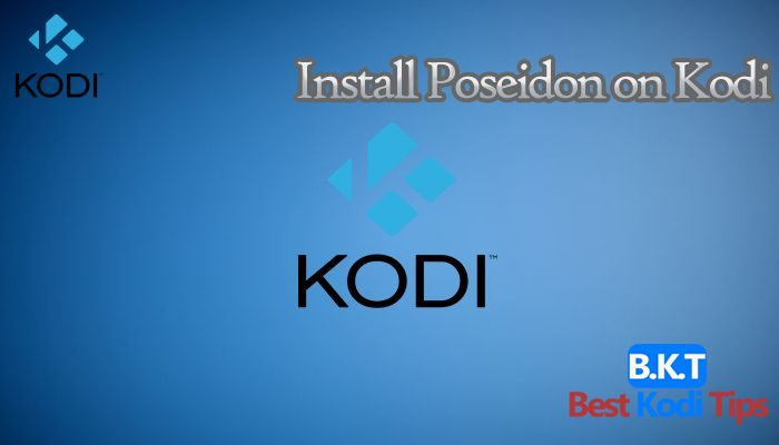 how to install Poseidon on Kodi
