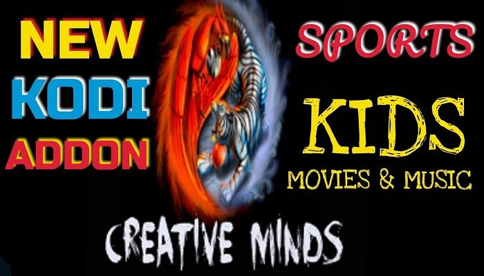 how to install creative minds kodi addon