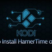 how to install hammertime on kodi