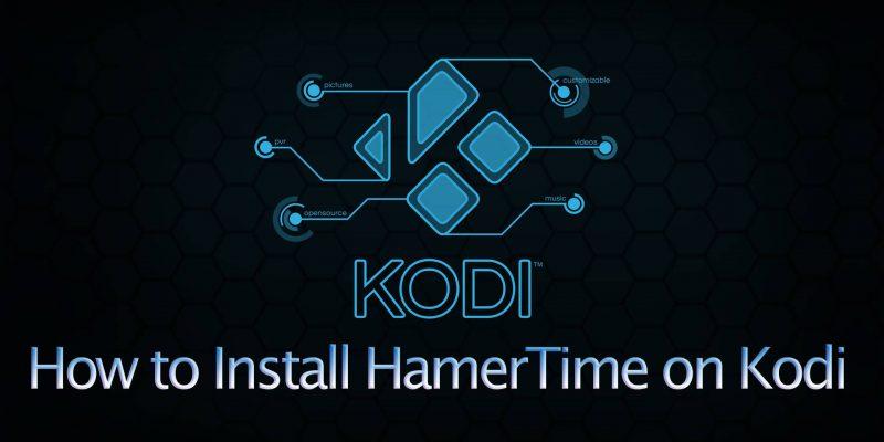 how to install hammertime on kodi