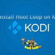 how to install hoot loop on kodi