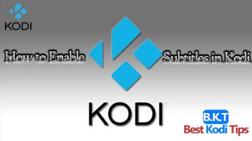 How to Add Subtitles to Kodi Addons