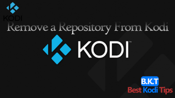 How to Remove a Repository From Kodi 17