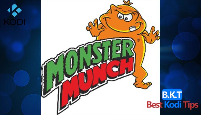 how to Install Monster Munch Kodi Addon