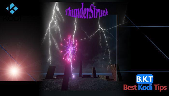 how to install ThunderStruck on Kodi