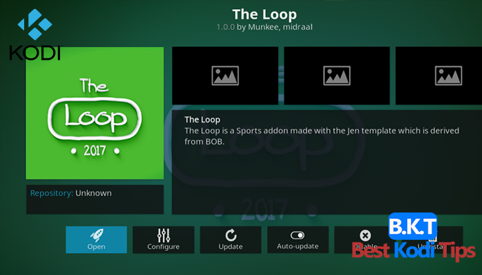 How to Install The Loop on Kodi