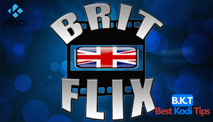 How to install Brit Flix on Kodi