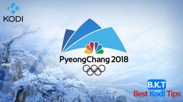 Watch Winter Olympics 2018 on Kodi