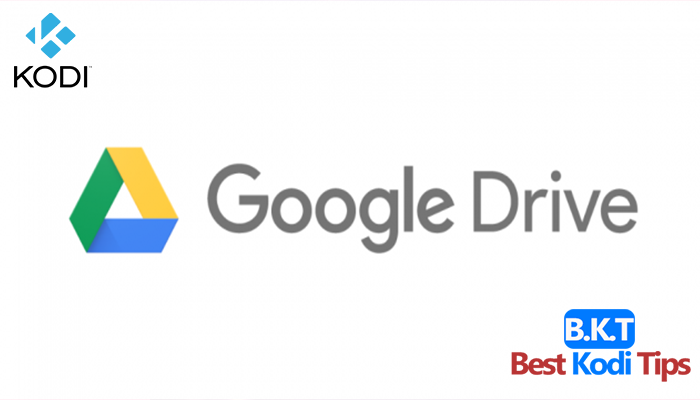 how to install google drive on kodi