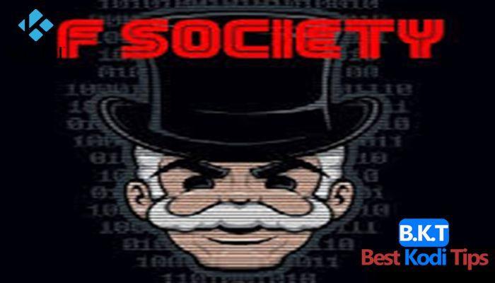 How to Install F Society on Kodi