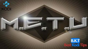 How to install metv on kodi