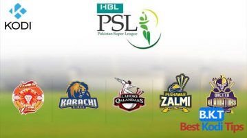 how to watch pakistan super league on kodi