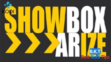 How to Install Showbox Arize on Kodi