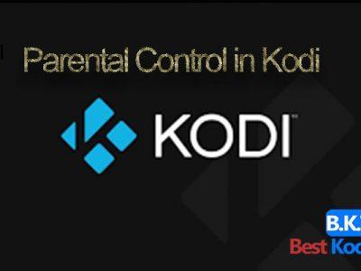 Parental Control in Kodi