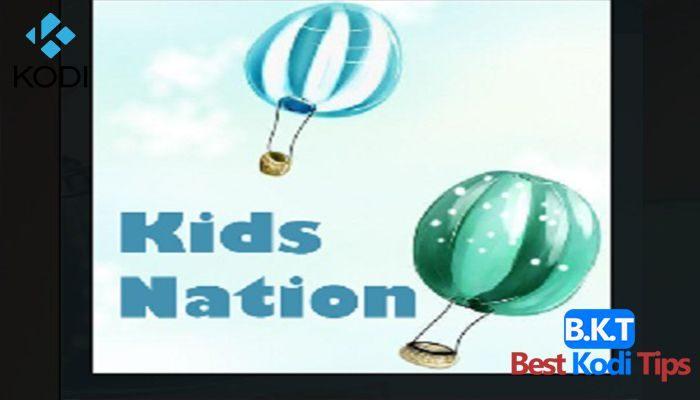how to install kids nation on kodi