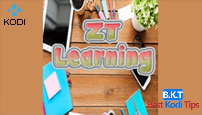 how to install zt learning on kodi