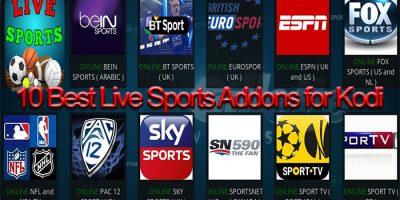 10 Best Live Sports Addons for Kodi 2018