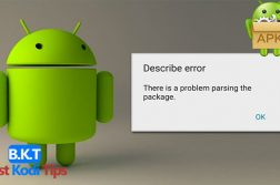 Android Parse Error Problem Parsing Package
