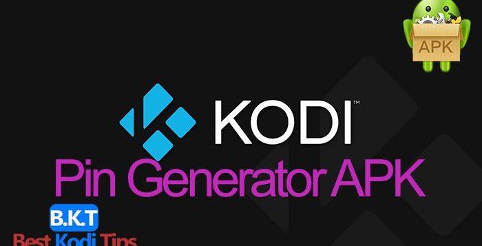 How to Install Kodi Pin Generator Android APK