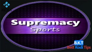 How to Install Supermacy Sports Addon on Kodi