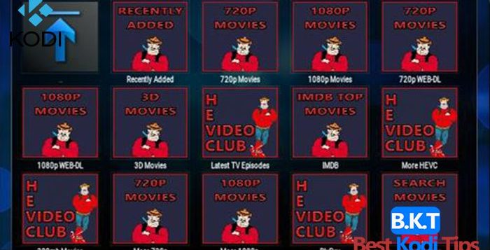How To Install HEVC Video Club On Kodi - BestKodiTips
