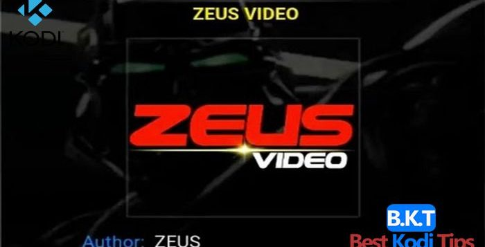 How to Install Zeus Video On Kodi - BestKodiTips