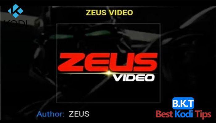 How to Install Zeus Video On Kodi - BestKodiTips