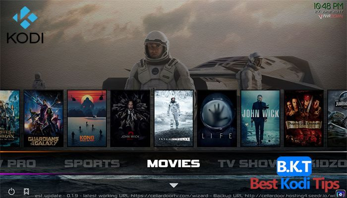 List of 20 Best Kodi Builds for August 2018