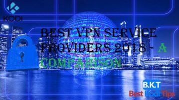 best vpn service providers 2018