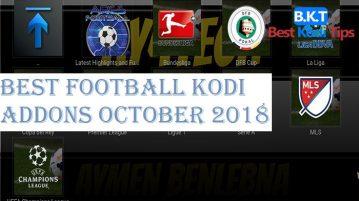 Best Football (Soccer) Kodi Addons October 2018