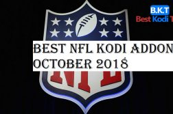 Best NFL Kodi Addons October 2018
