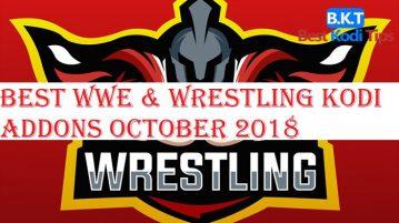 Best WWE & Wrestling Kodi Addons October 2018
