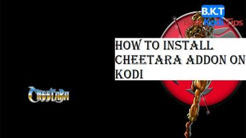 How to Install Cheetara Addon on Kodi