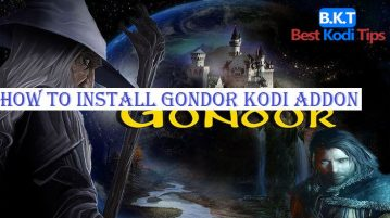 How to Install Gondor Kodi Addon