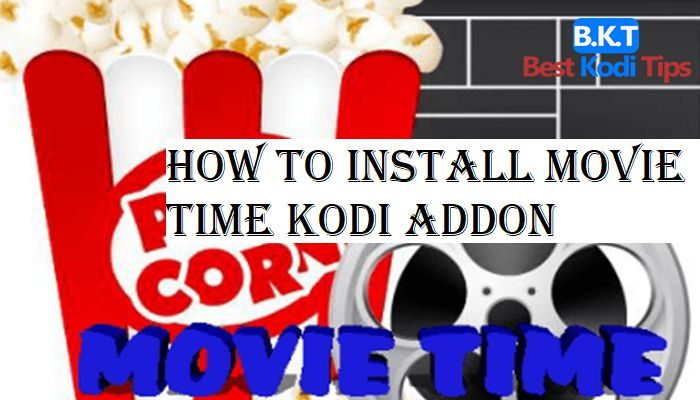 How to Install Movie Time Kodi Addon